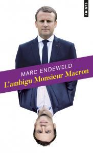 couverture L'Ambigu Monsieur Macron