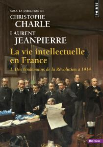 couverture La Vie intellectuelle en France
