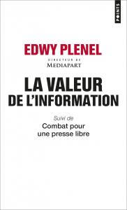 couverture La Valeur de l'information