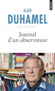 couverture Journal d'un observateur