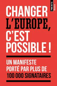 couverture Changer l'Europe, c'est possible !
