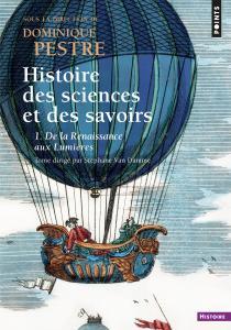 couverture Histoire des sciences et des savoirs