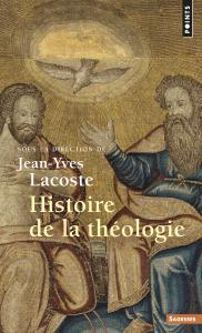 couverture Histoire de la théologie
