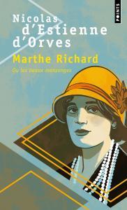 couverture Marthe Richard ou les beaux mensonges