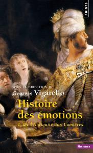couverture Histoire des émotions