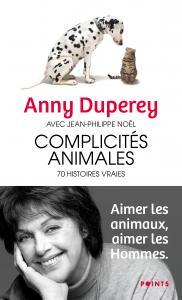 couverture Complicités animales : 70 histoires vraies