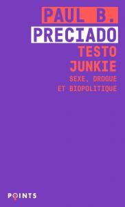 couverture Testo Junkie
