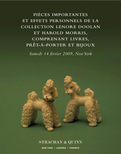 Pièces importantes et effets personnels de la collection Lenore Doolan et Harold Morris, comprenant livres, prêt-à-porter et bijoux