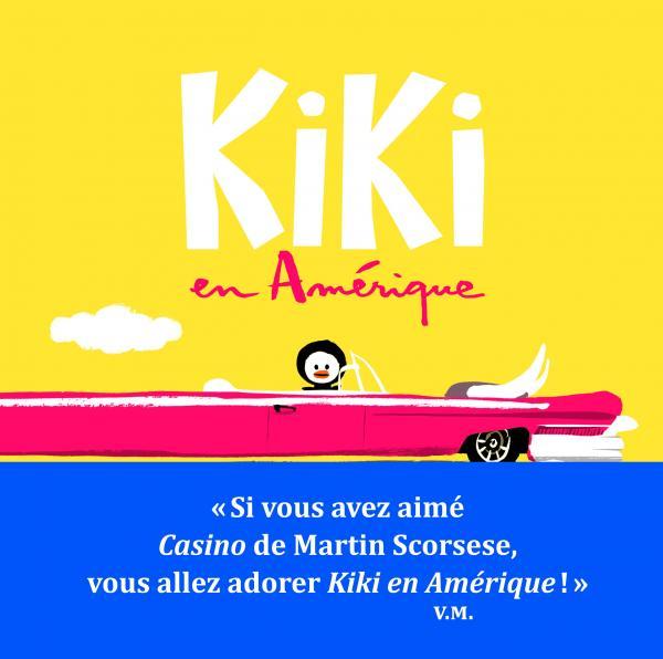 Couverture de l'ouvrage Kiki en Amérique
