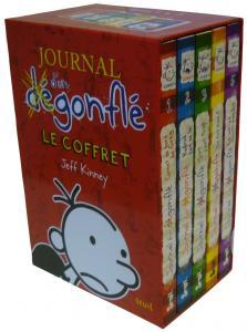 Couverture de l'ouvrage Journal d'un Dégonflé, le coffret