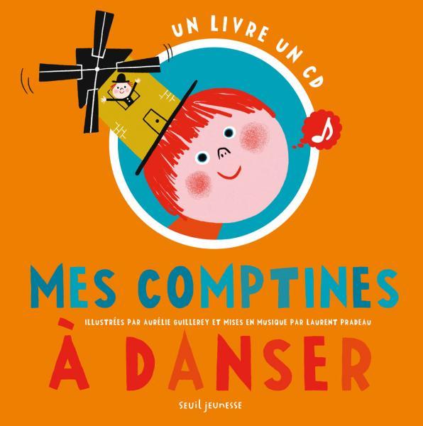 Couverture de l'ouvrage Mes comptines à danser