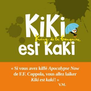 Couverture de l'ouvrage Kiki est kaki