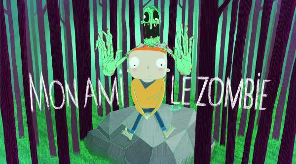 Couverture de l'ouvrage Mon ami le Zombie