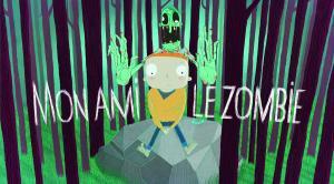 couverture Mon ami le Zombie