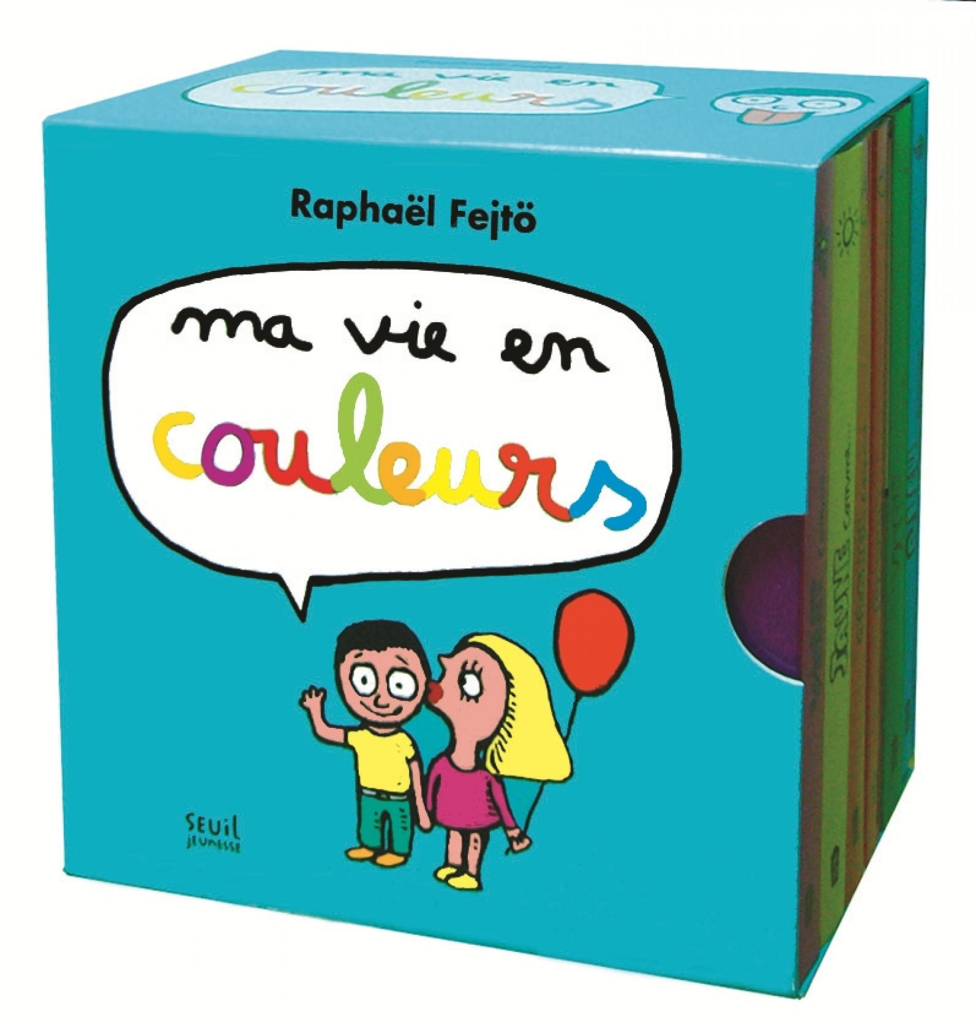 Ma vie en couleurs, Raphaël Fejtö, Jeunesse - Seuil   Editions Seuil