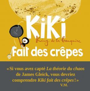 Couverture de l'ouvrage Kiki fait des crêpes