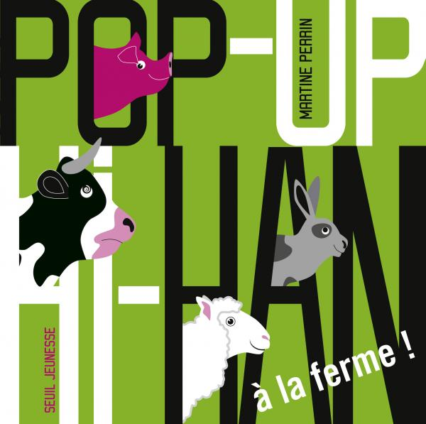 Couverture de l'ouvrage Pop up Hi Han