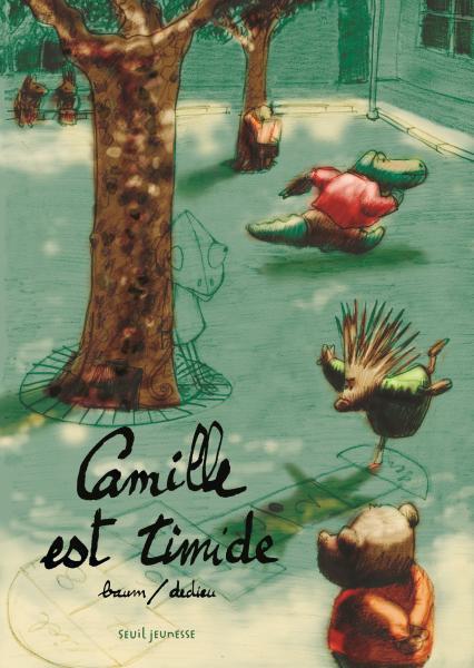 Couverture de l'ouvrage Camille est timide