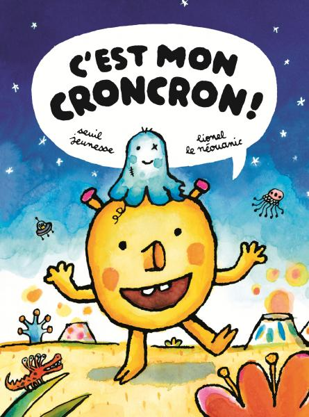 Couverture de l'ouvrage C'est mon croncron