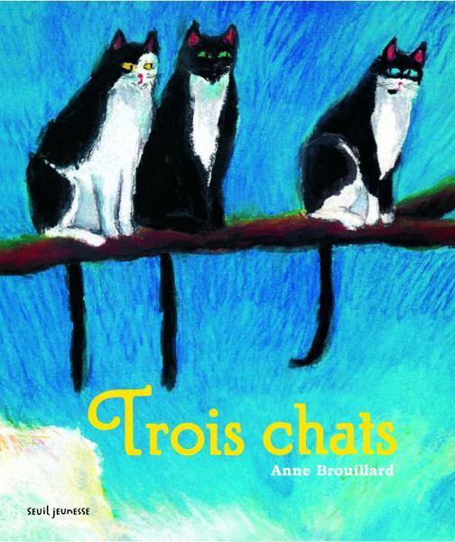Couverture de l'ouvrage Trois chats