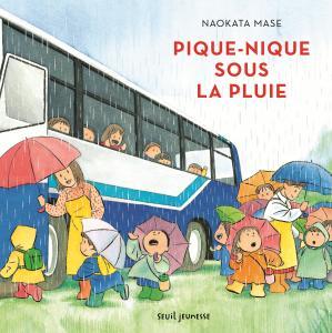 Couverture de l'ouvrage Pique-nique sous la pluie