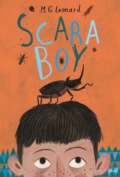 Couverture de l'ouvrage Scaraboy