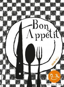 Couverture de l'ouvrage Bon appétit