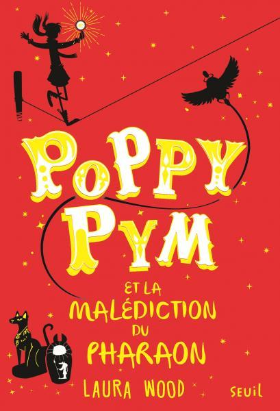 Couverture de l'ouvrage Poppy Pym et la malédiction du pharaon