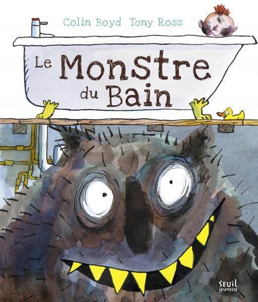 Couverture de l'ouvrage Le Monstre du bain