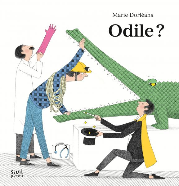 Couverture de l'ouvrage Odile ?