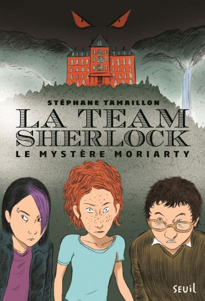 Couverture de l'ouvrage La Team Sherlock, tome 1