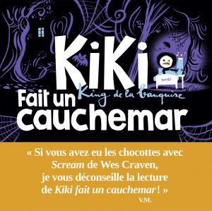 Couverture de l'ouvrage Kiki fait un cauchemar