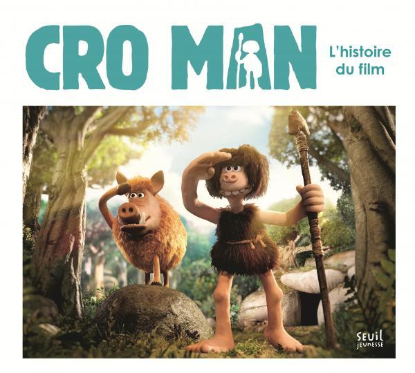 Couverture de l'ouvrage Cro Man