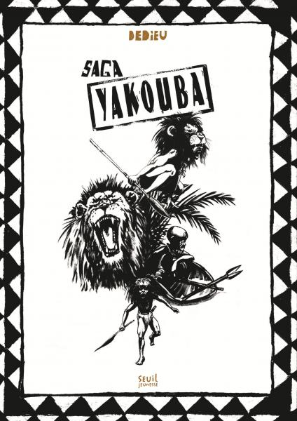 Couverture de l'ouvrage Saga Yakouba
