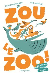couverture Zou le zoo !