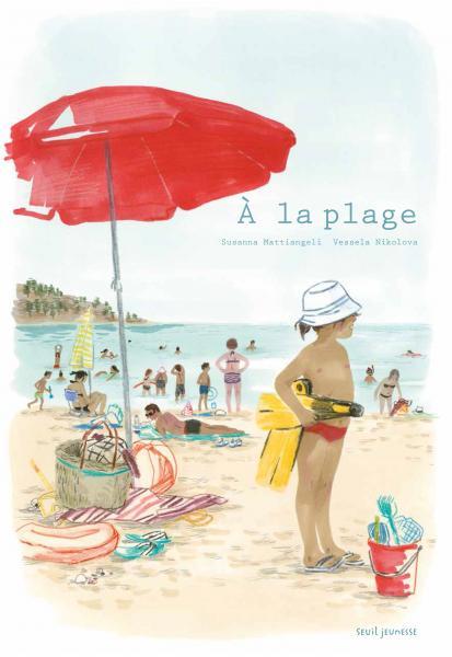 Couverture de l'ouvrage À la plage