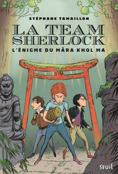 Couverture de l'ouvrage La Team Sherlock, tome 2
