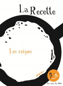 Couverture de l'ouvrage La Recette, les crêpes