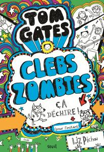 couverture Tom Gates, tome 11