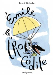 couverture Émile, le crocodile