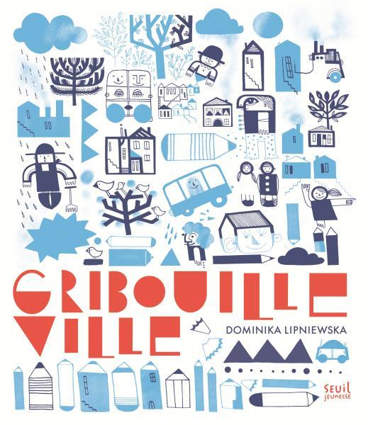 Couverture de l'ouvrage Gribouille-Ville
