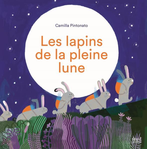 Couverture de l'ouvrage Les Lapins de la pleine lune