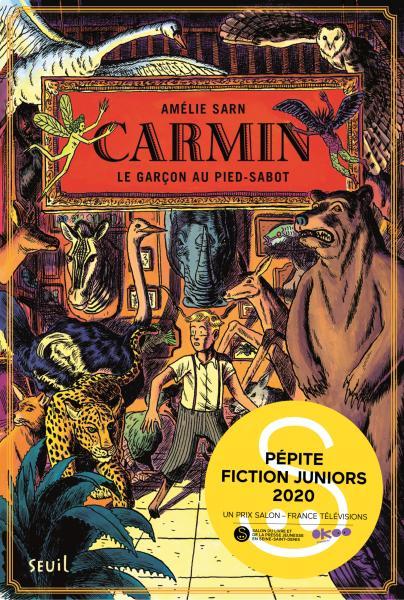 Couverture de l'ouvrage Carmin, tome 1