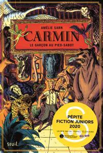 couverture Carmin, tome 1