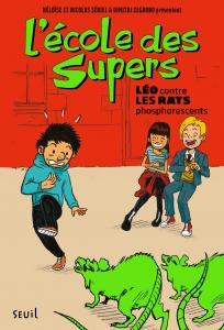 couverture L'École des Supers, tome 1