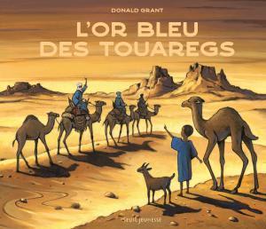 couverture L'Or bleu des Touaregs