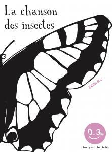 Couverture de l'ouvrage La Chanson des insectes