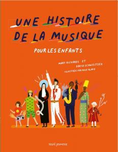 Couverture de l'ouvrage Une histoire de la musique pour les enfants